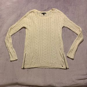 American Eagle Sweater with Zippers, Size Small.